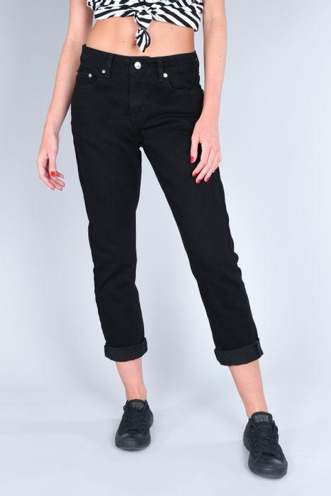 Jeans Mom Black