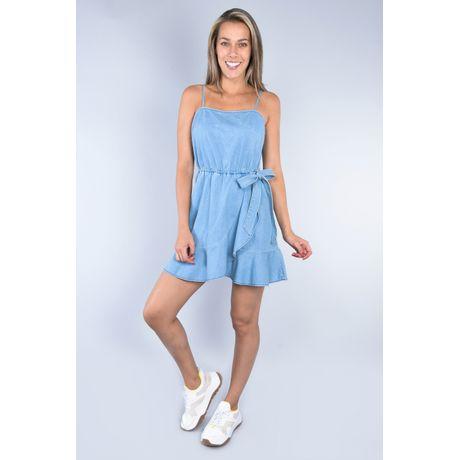 Vestido corto de mezclilla Bleach