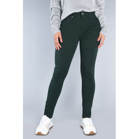 Jeans Lucy Mezclilla Musgo