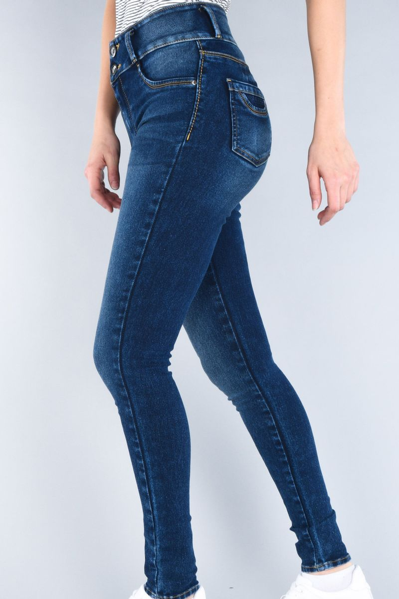 Tipo-de-foto-Jeans-Oggi-Mujer-Mezclilla-Azul-Oscuro-Katia-Super-Skinny