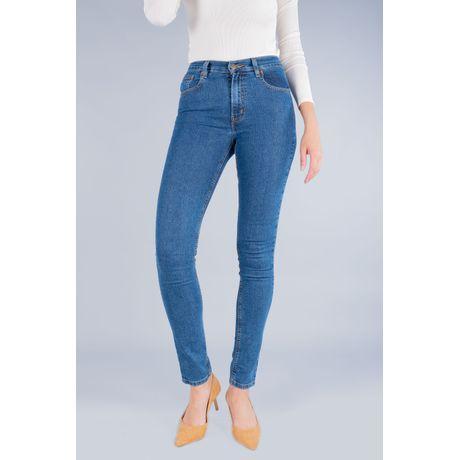 Jeans Oggi Mujer Mezclilla Azul Medio Passion Slim