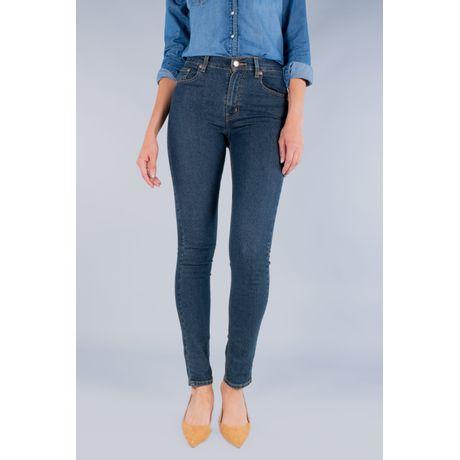 Jeans Oggi Mujer Azul Oscuro Mezclilla Passion Slim