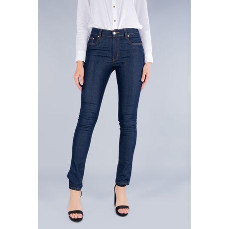 Jeans Oggi Mujer Mezclilla Azul Oscuro Passion 299800662 Slim