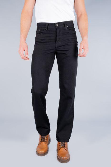 Jeans Oggi Hombre Mezclilla Negro Reckless Straight