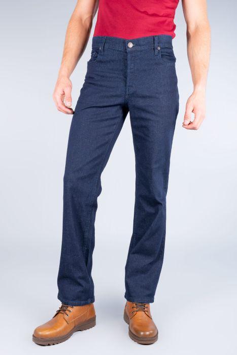 Jeans Oggi Hombre Azul Oscuro Mezclilla Reckless Straight