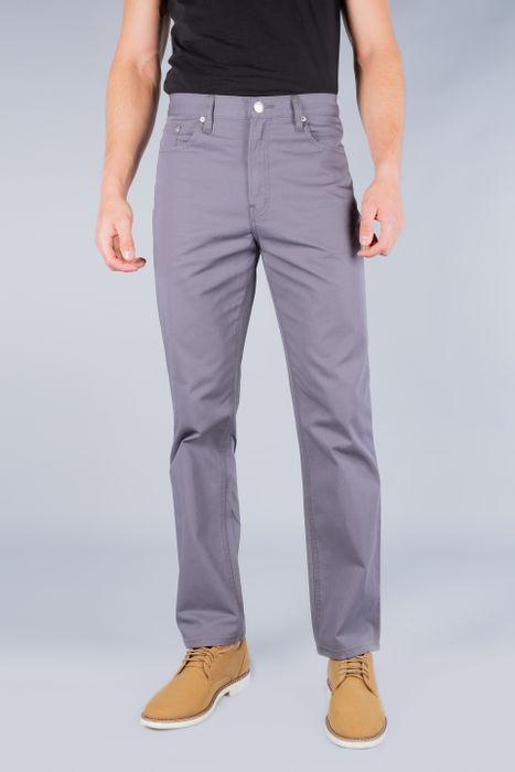 Jeans Oggi Hombre Gabardina Gris Oscuro Power Tallas Ext 02254 Straight